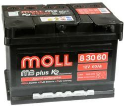 Moll m3 plus K2 60Ah 550A