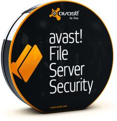 Avast File Server Security Renewal (2-4 Server, 1 Year) AFSS-4-1-RL