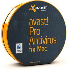 Avast Pro Antivirus for Mac (10-19 User, 3 Year) AV_MAC-19-3-LN
