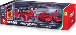Bburago Set masini Ferrari si accesorii 1:43 (31214)