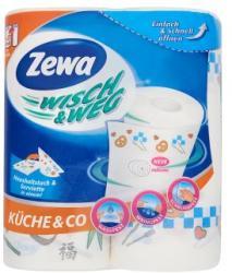 Zewa Wisch U0026 Weg Küche U0026 Co 2 Rétegű Papírtörlő 2db