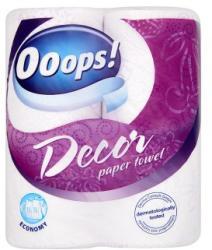 Ooops! Decor 2 rétegű papírtörlő 2db