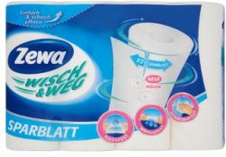 Zewa Wisch & Weg Sparblatt 2 rétegű papírtörlő 4db