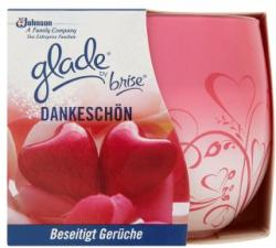 Glade Only Love illatgyertya 120g