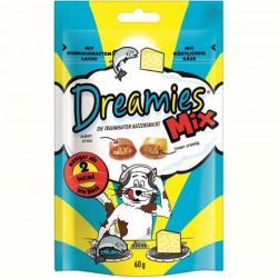 Dreamies Mix lazacos-sajtos jutalomfalatok 60g