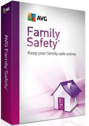 AVG Technologies Family Safety Renewal (20 PC, 1 Year) AVGFS115RL