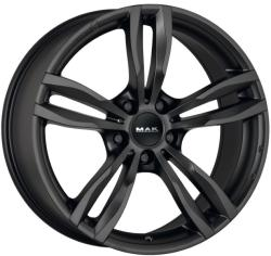Mak Luft Matt Black CB72.6 5/120 17x7.5 ET34