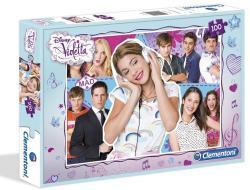 Clementoni Disney Violetta 100 db-os kollázs puzzle (07224)
