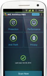 AVG Technologies AntiVirus PRO for Android Smartphones Renewal (2 Device, 1 Year) AVGAND12RL
