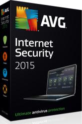 AVG Technologies Internet Security 2015 Renewal (5 PC, 1 Year) AVGIS15RL