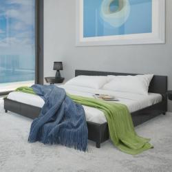 vidaXL Műbőr ágy 140x200cm