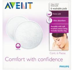 Philips AVENT mosható melltartóbetét 6db