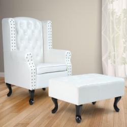 Chesterfield Ohrenbacken - relaxáló fotel