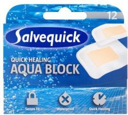 Salvequick Aqua Block vízálló átlátszó sebtapasz 12db