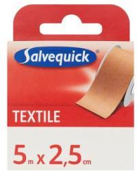 Salvequick Textile ragtapasz 5m x 2.5cm