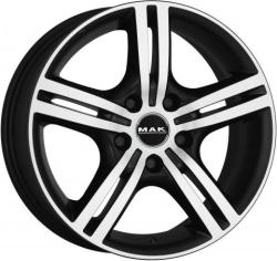 Mak Veloce Light Ice Black CB65.1 5/110 16x7 ET31
