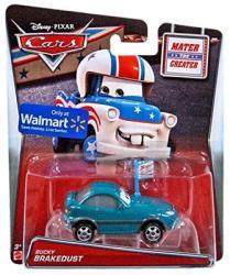 Mattel Cars Toons - Masinuta Mater The Greater Bucky Brakedust