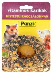 Panzi Vitaminos karikák kistestű rágcsálóknak 70g