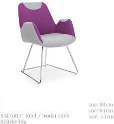 HALMAR Safari-C - fotel