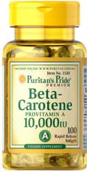 Puritan's Pride Beta-Carotene 10000 IU kapszula - 100 db