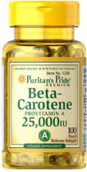 Puritan's Pride Beta-Carotene 25000 IU kapszula - 100 db
