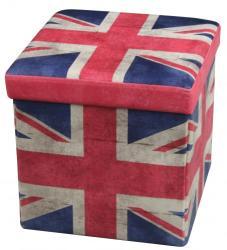 HALMAR Moly UK - tárolós puff