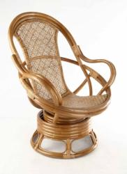 SWIVEL - rattan fotel