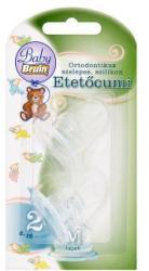 Baby Bruin Tejes etetőcumi 5-18 hónapos korig 2db