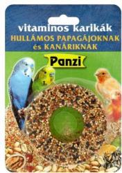 Panzi Vitaminos karikák hullámos papagájoknak és kanáriknak 70g