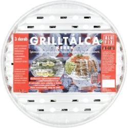 Alufix Fix-Grill kerek grilltálca 3db