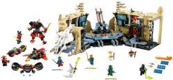LEGO Ninjago - Káosz a Samurai X barlangban (70596)