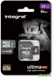 Integral MicroSDHC Ultima Pro 32GB INMSDH32G10-90U1