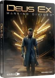 Square Enix Deus Ex Mankind Divided [SteelBook Edition] (PS4)