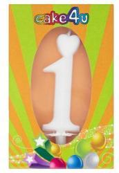 Cake4U 1-es születésnapi gyertya