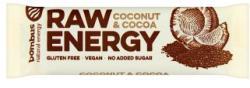 bombus Raw Energy kókusz-kakaó szelet 50g