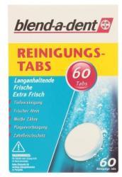 Blend-a-dent Extra Fresh műfogsortisztító tabletta 60db