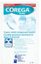 Corega Műfogsortisztító tabletta 6db