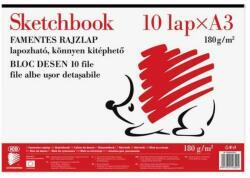 ICO Sketchbook kitéphető A/3 famentes rajzlap 10db