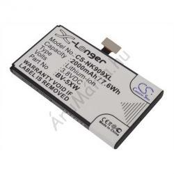 Utángyártott Nokia LI-ION 2000 mAh BV-5XW