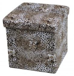 HALMAR Moly Lion - tárolós puff