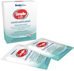 Bradoline Life fertőtlenítő kendő 5db