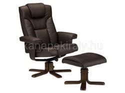 HALMAR Borneo - lábtartós relax fotel