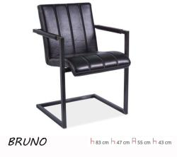 Bruno - valódi bőr fotel