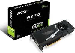 MSI GeForce GTX 1070 8GB GDDR5 256bit PCI-E (GTX 1070 AERO 8G OC)