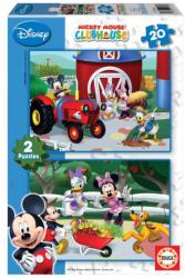 Educa Disney Mickey egér 2x20 db-os (E15290)