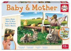 Educa Baby Puzzle - Mama és kicsinye