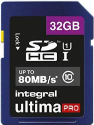 Integral SDHC 32GB Class 10 INSDH32G10-80U1
