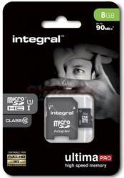 Integral SDHC Ultima Pro 8GB Class 10 INMSDH8G10-90U1