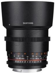Samyang 85mm T1.5 VDSLR AS IF UMC II (Samsung)