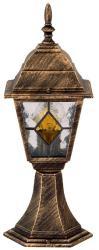 Rábalux Monaco kültéri talpas lámpa, tiffany üveggel 8183